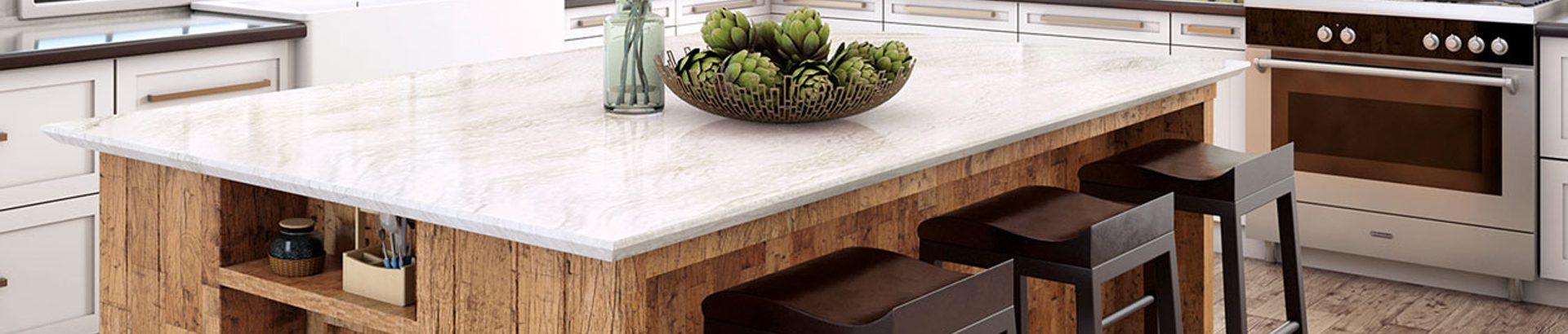 Beautiful countertops from Republic Cabinets will add another dimension to your kitchen design