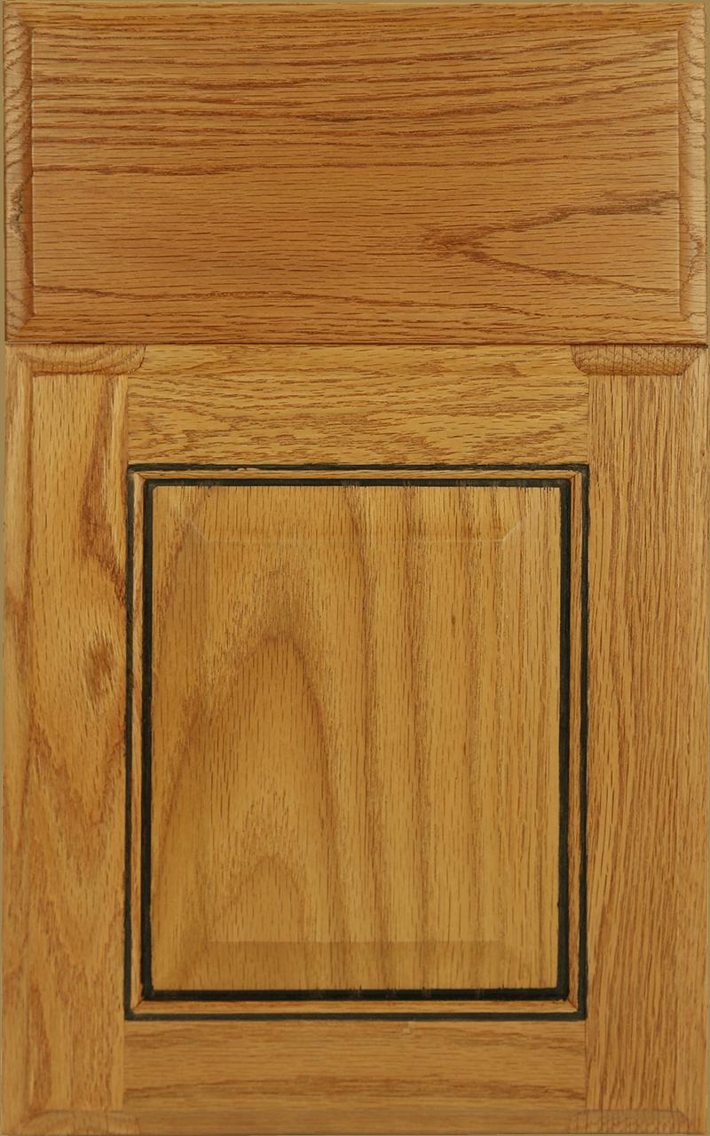 color palette for kitchen cabins oak beaumont honey w black glaze
