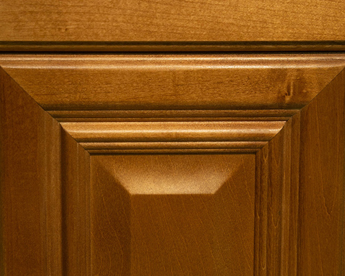 Door Styles maple color kitchen cabinets