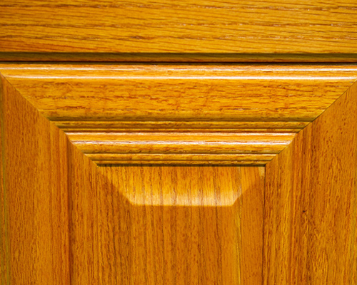 Oak cover color of wood for kitchen cabinets