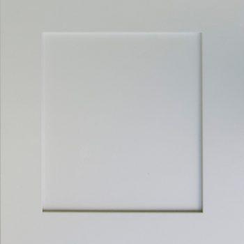 Color samples shaker white