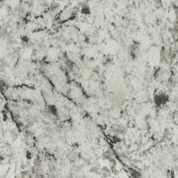 Color samples white ice granite